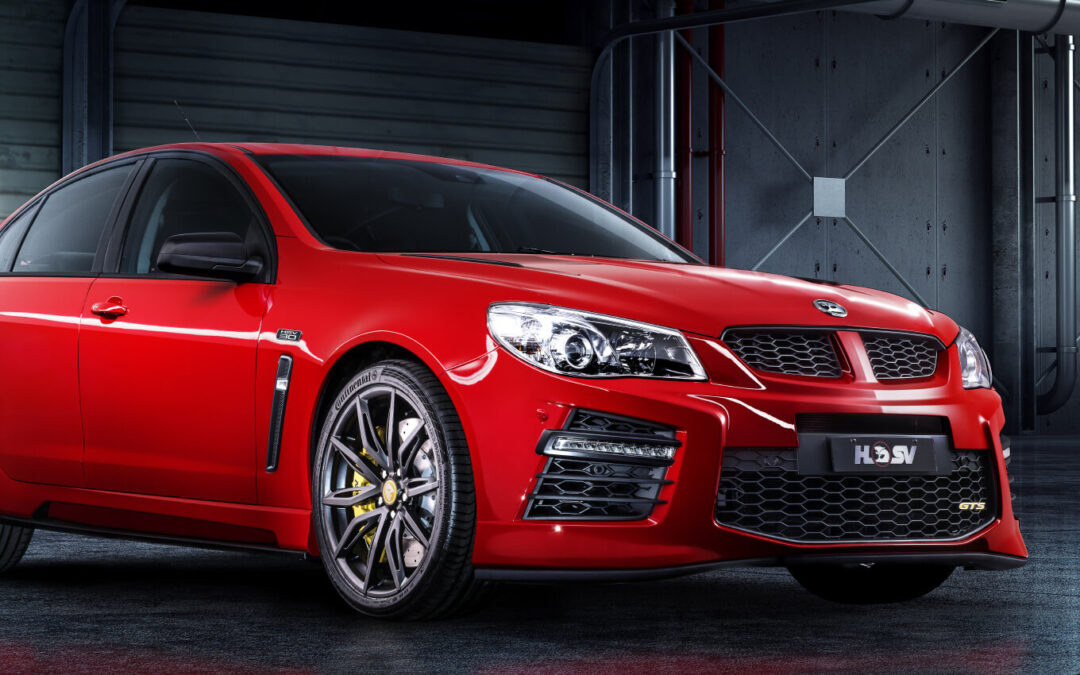 The Supercharged HSV GTS